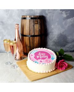 Mother's Day Champagne Gift Basket