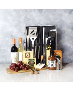 """""""Fire It Up"""" BBQ Gift Basket"""