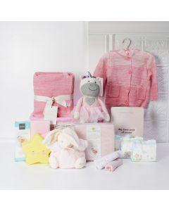 MAGICAL UNICORN BABY GIRL GIFT BASKET