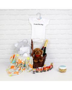 UNISEX BABY CELEBRATION SET, unisex gift hamper, newborns, new parents