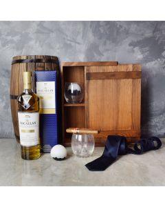 The Gentleman's Crate, liquor gift baskets, gourmet gift baskets, gift baskets