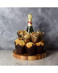 Champagne & Muffins Gift Set