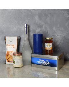 Happy Hanukkah Liquor Gift Basket