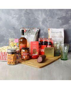 Crunch & Confections Liquor Gift Set, liquor gift baskets, gourmet gift baskets, gift baskets, gourmet gifts