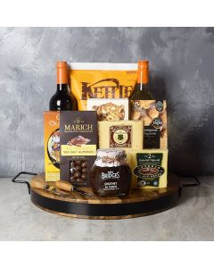 Wine & Cheese Platter Gift Set