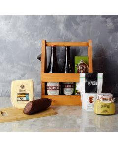 Meat, Cheese & Beer Gift Set, beer gift baskets, gourmet gift baskets, gift baskets, gourmet gifts