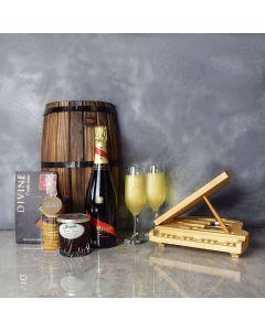Sweet Jam & Cherries Champagne Gift Basket, champagne gift baskets, gourmet gift baskets, gift baskets