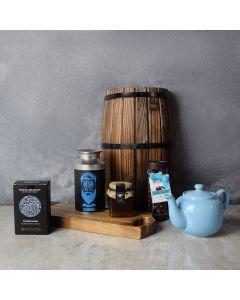 Mid-Morning Kosher Refreshment Gift Board, gift baskets, gourmet gifts, gifts, kosher