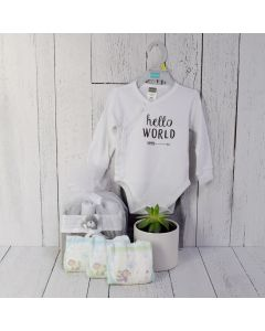 UNISEX WELCOME BABY GIFT SET, unisex baby gift hamper, newborns, new parents