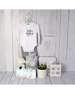 UNISEX BABY COMFORT SET, unisex baby gift hamper, newborns, new parents