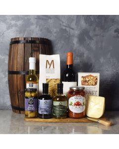 Little Italy Wine Basket