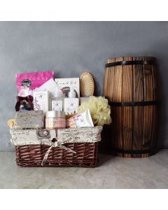 Soothing Lullaby Spa Gift Set, gourmet gift baskets, gourmet gifts, spa gift baskets, gift baskets