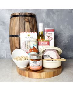 The Brie Baker & Coffee Gift Set, gourmet gift baskets, gourmet gifts, gifts