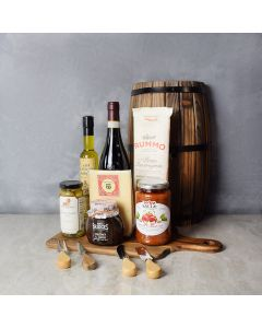 Pasta, Chutney & Wine Gift Set, wine gift baskets, gourmet gift baskets, gift baskets, gourmet gifts