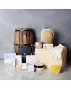 Radiant & Lavish Spa Gift Set, spa gift baskets, spa gifts, gift baskets, spa sets