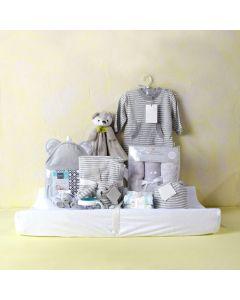 UNISEX COMFORT & SLEEP SET, unisex baby gift hamper, newborns, new parents