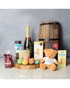 Birthday Joy Champagne Set, champagne gift baskets, gourmet gift baskets, gift baskets, gourmet gifts