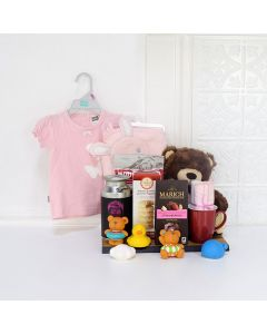 SOFT & CUDDLY BABY GIFT SET, baby gift basket, welcome home baby gifts, new parent gifts