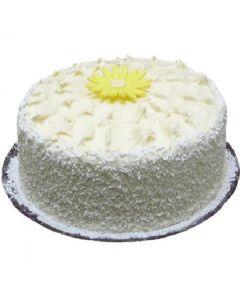 Lemon Coconut Layered Cake