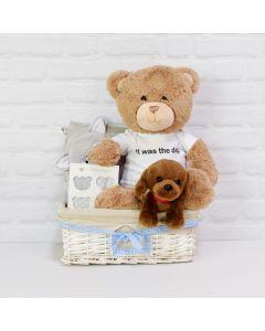 Custom Baby Basket