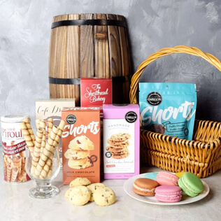 Gourmet Cookie Assortment Gift Basket Vermont