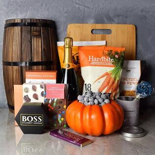 Happy Halloween Champagne Basket Vermont