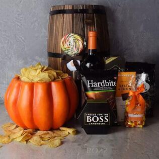 Plump Pumpkin Gift Basket Vermont