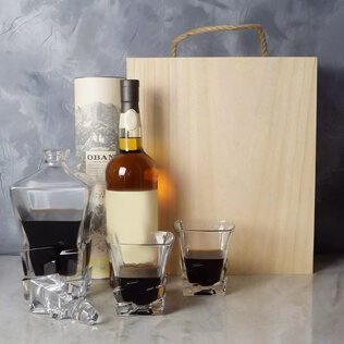 Liquor & Decanter Crate Vermont