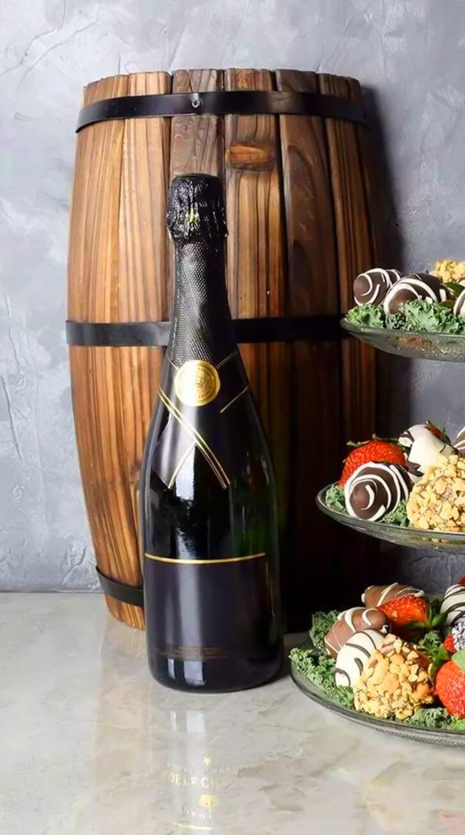 Dazzling Chocolates & Champagne Gift Set