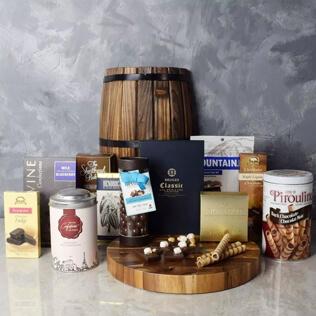 Lansing Bountiful Chocolate Basket Manchester