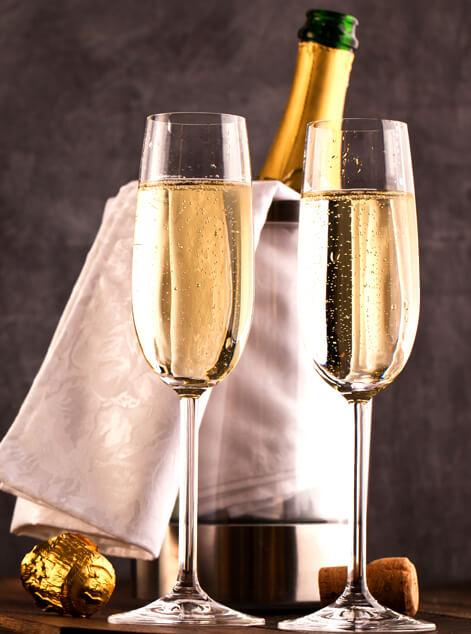 Champagne Gift Baskets Delivery Glastonbury