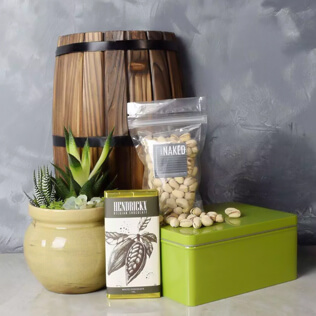 Snacks & Succulent Gift Set Vermont