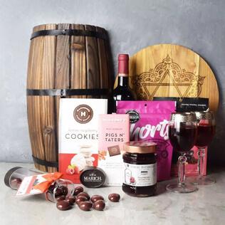 Kosher Raspberry Sweets & Treats Set Vermont