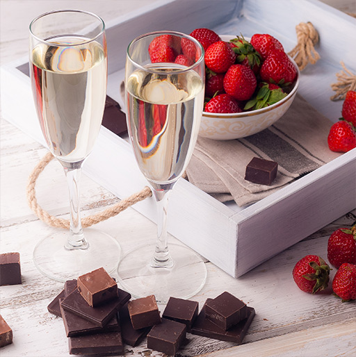 Our Champagne and Chocolate Gift Ideas for Friends