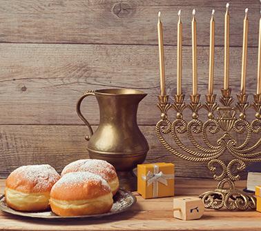 Hanukkah Gift Baskets Delivered to Vermont