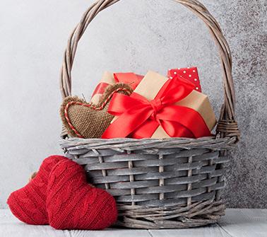 Valentines Gift Baskets Delivered to Vermont